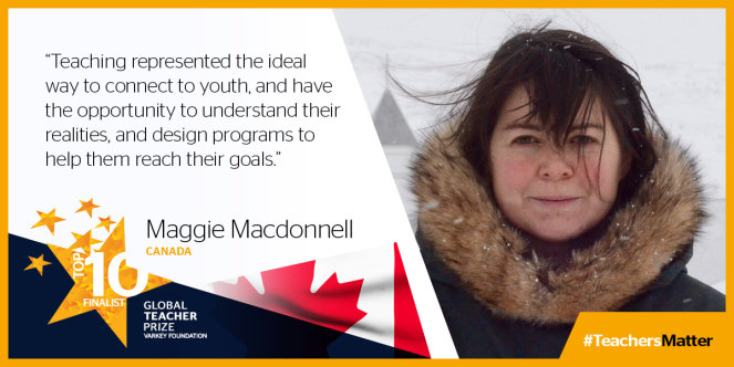 Maggie MacDonnell from Canada